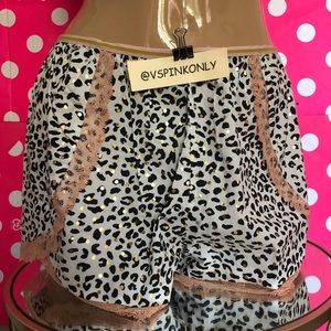 Victoria's Secret Leopard Short Sleep / Size M